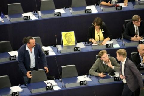 Junqueras, escollit vicepresident primer dels Verds/ALE a l'Eurocambra i president del grup de l'Aliança Lliure Europea