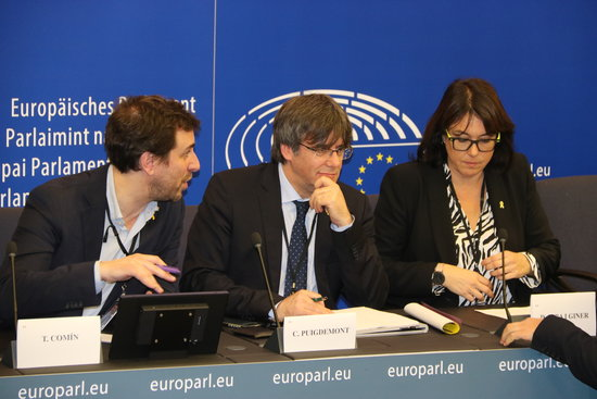 """Riba diu que la decisió de Sassoli de vetar Junqueras és un """"atac directe a la sobirania"""" del Parlament Europeu"""