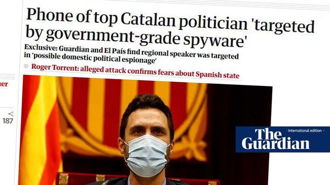 Diana Riba denuncia l'espionatge polític a Roger Torrent davant la Comissió Europea